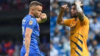 Cruz Azul vs Tigres: 'Cabecita' Rodríguez y Gignac volverán a la carga este fin de semana