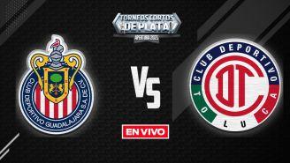 EN VIVO Y EN DIRECTO: Chivas vs Toluca