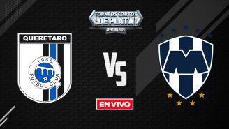 EN VIVO Y EN DIRECTO: Querétaro vs Rayados Liga MX Apertura 2021 J14