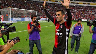 Rafael Márquez durante un partido con Atlas