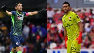 Corona y Vargas en partidos de la Liga MX