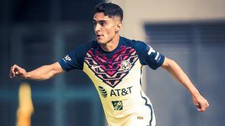 América: Santiago Naveda volvió a jugar con la Sub 20