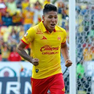 Raúl Ruidíaz grita un gol con Monarcas Morelia