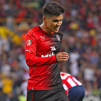 Martín Barragán lamenta una acción durante el juego contra Chivas en Cuartos de Final del C2017