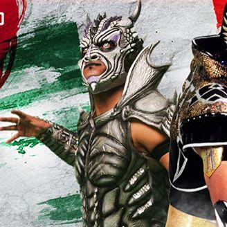 Drago y Aerostar representarán a Lucha Underground