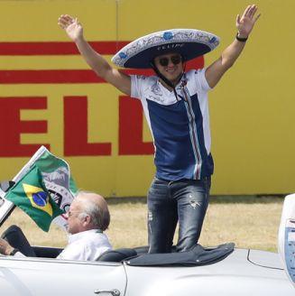 Felipe Massa previo al GP de México