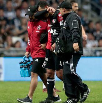Márquez se lamenta tras salir lesionado