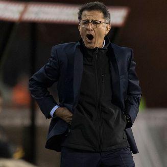 Juan Carlos Osorio en el partido contra Bélgica