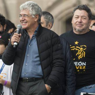 Ferretti dedica unas palabra a la afición en el festejo de Tigres