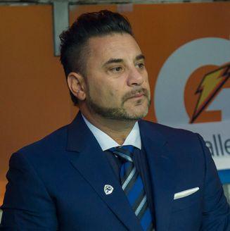 Antonio Mohamed observa la Final entre Rayados y Tigres