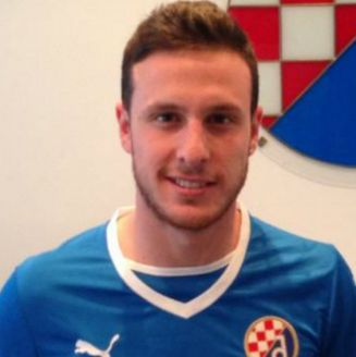 Ángelo Heníquez con el Dinamo Zagreb de Croacia