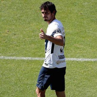 Alejandro Arribas en el partido contra Alebrijes