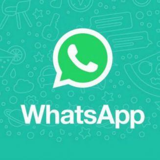 El logo de WhatsApp