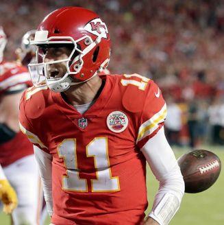 Alex Smith, durante partido contra Redskins