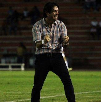Bruno Marioni en un partido con Venados