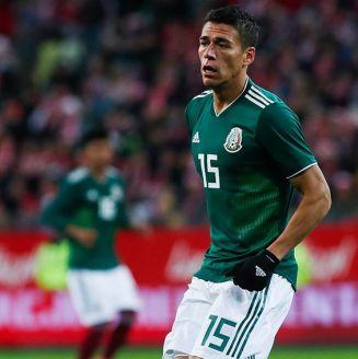 Héctor Moreno, durante juego del Tri