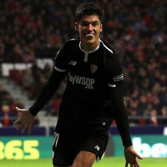 Correa celebra gol contra Atlético de Madrid