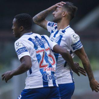 Murillo y Herrera se lamentan en partido contra el América