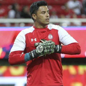 Talavera calienta previo a un juego con Toluca en el A2017