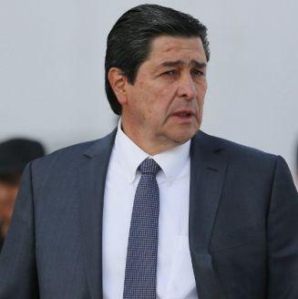 Luis Fernando Tena durante el encuentro contra Lobos BUAP
