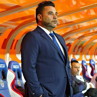 Antonio Moramed, durante un juego de Monterrey