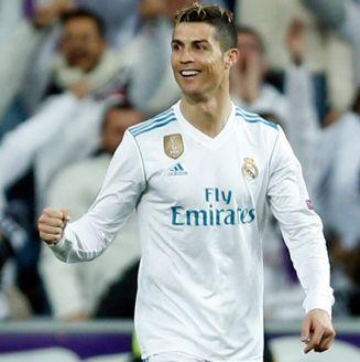 Cristiano Ronaldo, durante el partido frente al PSG en Champions League