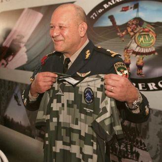 El uniforme fue presentado frente a las Fuerzas Armadas