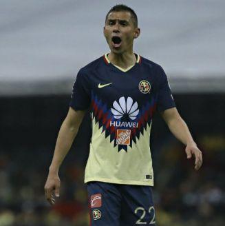 Paul Aguilar lanza un grito en un juego del América en el Azteca
