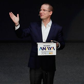 Ricardo Anaya ofrece un discurso