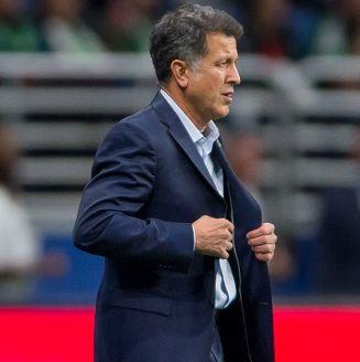 Juan Carlos Osorio, durante juego del Tri