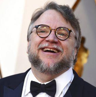 Guillermo del Toro durante la alfombra roja de los Oscar 2018