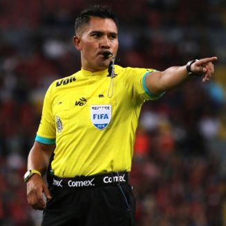 Guerrero, durante un juego de la Liga MX