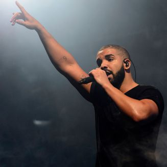 Drake, durante un concierto