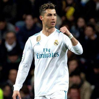 Cristiano Ronaldo celebra un gol contra el Girona