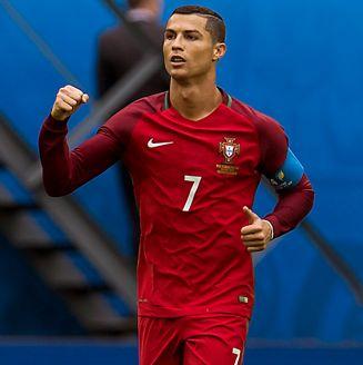 Cristiano Ronaldo celebra gol en la Copa Confederaciones