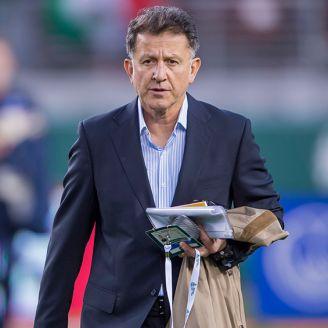 Juan Carlos Osorio, durante el juego entre México e Islandia