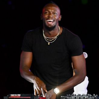 Usain Bolt durante los XXI Juegos de la Mancomunidad