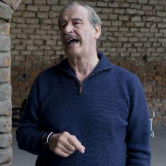 Vicente Fox, durante un evento