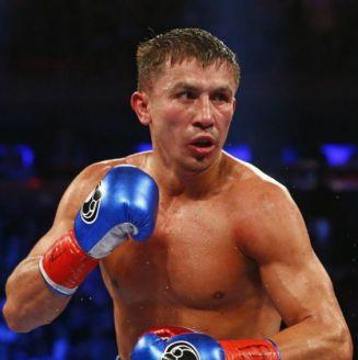 Gennady Golovkin, durante una pelea