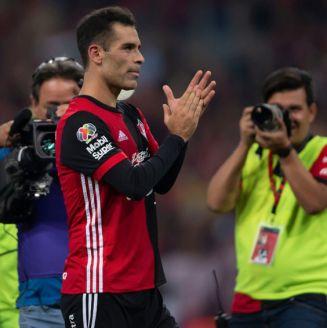 Rafa Márquez, al término del partido en contra de las Chivas