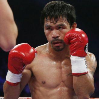 Manny Pacquiao durante pelea