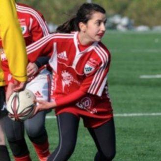 Rebecca Braglia durante un partido
