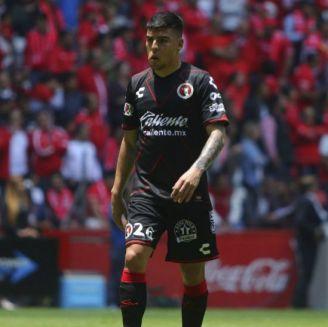Luis Ángel Mendoza después del partido contra Toluca