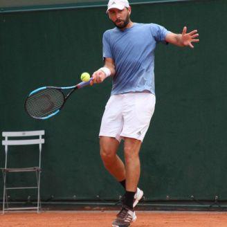 González durante su participación en Roland Garros