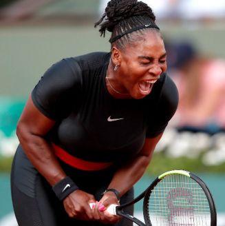 Serena Williams, durante un partido contra Ashley Barty