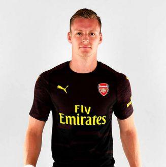 Bernd Leno ya viste los colores del Arsenal