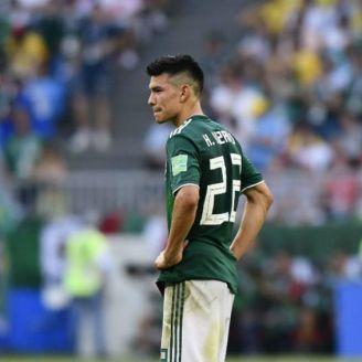 Chucky Lozano después de la derrota vs Brasil