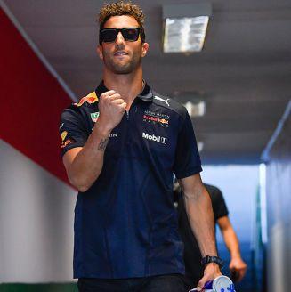 Daniel Ricciardo, durante el GP de Hungría