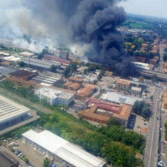 Explosión en carretera de Bolonia, Italia