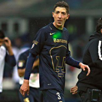 Marco Palacios, después de un partido con Pumas